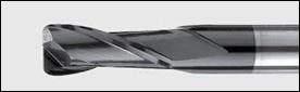 фреза концевая двухперая