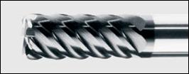 фреза по стали шестиперая с угловым радиусом