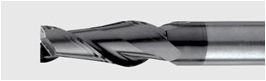 фреза двухперая по стали